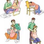 Позы во время родов или как пережить схватки